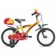 Bicicletta Billy giallo bimbo 670 MTB16