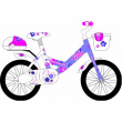 Bicicletta Trilly bianco/lilla bimba 671 MTB16