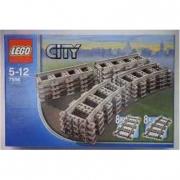 """7896 Lego City Trains """" Binari dritti e curvi"""" 5/12anni"""