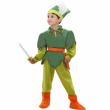Peter pan costume 3/4 anni
