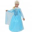 Costume principessa delle nevi 8/9 anni Pegasus