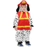 Costume cane pompiere 3/4 anni