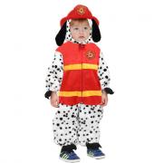 Costume cane pompiere 4/5 anni