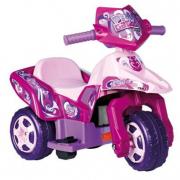 Moto a tre ruote Pink Tatoo 6V