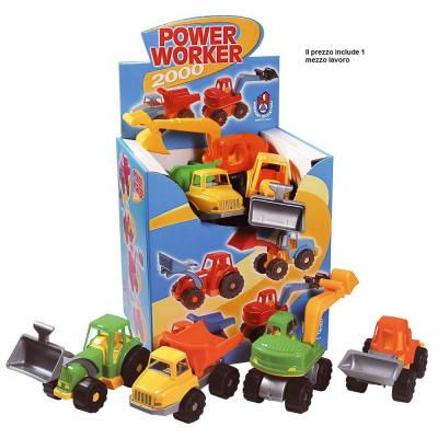 Mezzo lavoro Power worker in plastica
