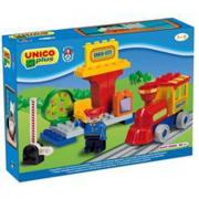 Stazione e treno per bambini