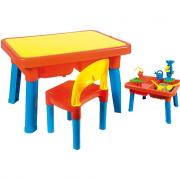 Tavolino con sedia multigioco