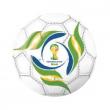 Pallone gomma Brasil World Cup diam. cm. 23