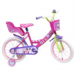 "Minnie bicicletta bambina disney 16"""