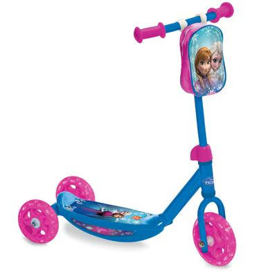 Monopattino Frozen 3 ruote con borsetta