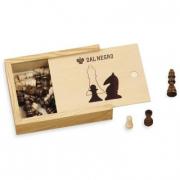 Set scacchi in legno