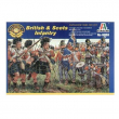 Fanteria scozzese e inglese guerre napoleoniche figurini