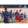 Fanteria dell'Unione Guerra civile americana figurini