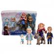 Set 5 personaggi Frozen - Elsa Anna Kristoff Olaf Sven