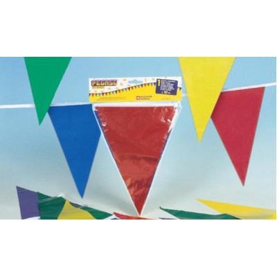 Festone bandierine colorate 10 metri