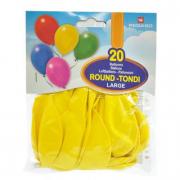 Palloncini gialli 20 pezzi