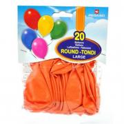 Palloncini arancioni 20 pezzi