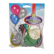 Palloncini metallizzati 20 pezzi