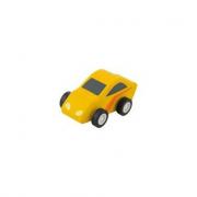 Auto Retrocarica Sportiva gialla (82918)