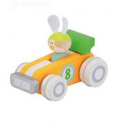 Set auto da corsa Sevi con coniglio