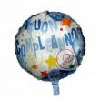 Pallone foil Buon Compleanno azzurro cm. 46