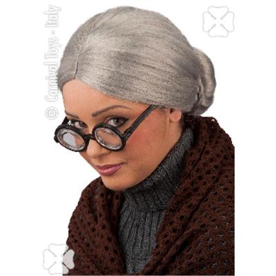 Parrucca nonnina