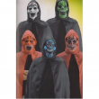 Set Horror Adulto Mantello con cappuccio e maschera