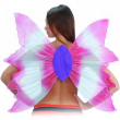 Ali farfalla bianche e rosa cm. 72x82