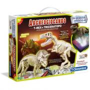 Archeogiocando T-Rex & Triceratopo 13984