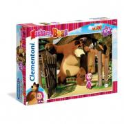 Puzzle Masha e orso 104 pezzi Clementoni