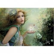 Puzzle Herald of Spring Fairies 1000 pezzi
