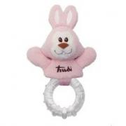 Anello dentizione coniglio rosa