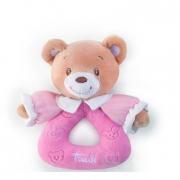 Rattle Orsetto rosa Baby Bear Trudi