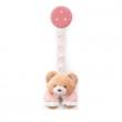 Portaciuccio Orsetto rosa Baby Bear Trudi