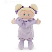 Bambola di pezza con abito lavanda Trudi