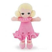 Bambola pezza abito rosa S (64455)