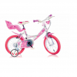 "Bicicletta girl 14"" Little Heart Dino Bikes"