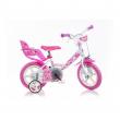"Bicicletta girl 12"" Little Heart 124RLN-05LH Dino Bikes"