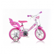 "Bicicletta girl 12"" Little Heart 124RLN-05LH Dino Bikes"