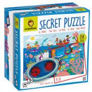 LUDATTICA 24 Pezzi - Secret Puzzle - Il mare