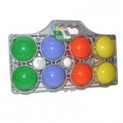 Gioco bocce colorate in plastica