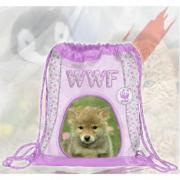 Sacchetto borsa Coulisse Girl WWF