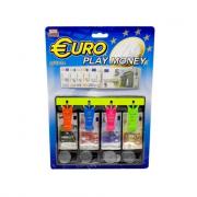 Cassetto cassa con soldi euro giocattolo