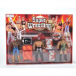 Wrestling 3 personaggi con accessori