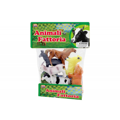 Animali Fattoria in busta media da 6pz