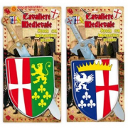Spada medioevale con scudo