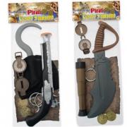 Set accessori pirata ass.