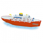 Nave passeggeri grande galleggiante