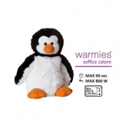 Pinguino peluche termico Warmies cm. 30