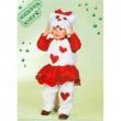 Costume Micetta Kitty Baby tg. 1/2 anni